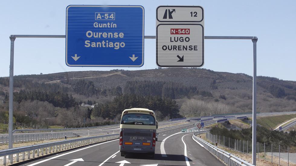 Autovía Lugo – Santiago